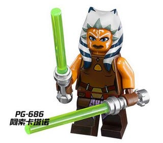 Ahsoka Tano Minifigures Star Wars Lego Comp.