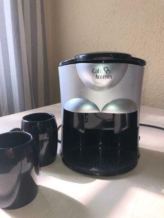 Cafetera filtro doméstica 2 tazas.