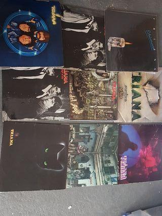 Lote 9 discos Vinilo Triana
