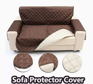 Funda de sofá 3 plazas reversible