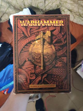 Libro Warhammer