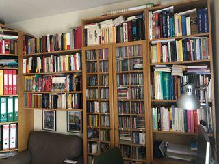 Libreria y mesa de estudio