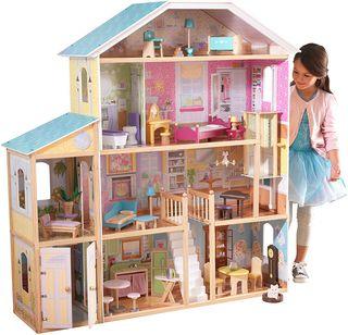 Casa de muñecas 30cm de madera gigante NUEVA