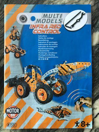 Construcción mecánica juguete metal