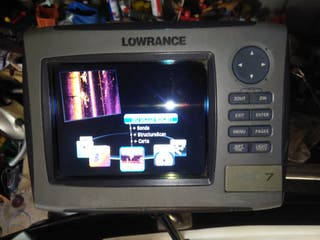 lowrance, hds7 y hds 5 structure.