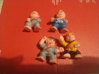 muñecos judokas
