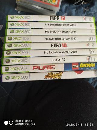 todo 5€ 9 juegos xbox 360