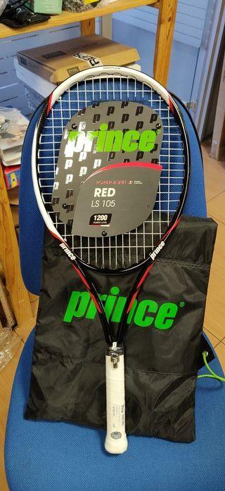 Raqueta tenis prince red 105