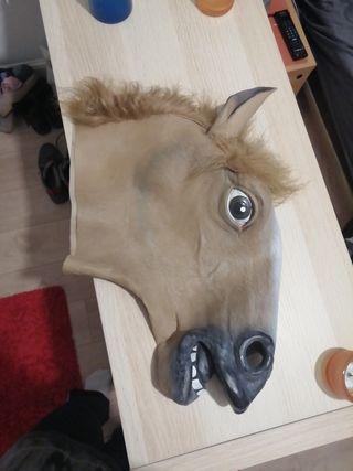 Máscara de cabeza de caballo