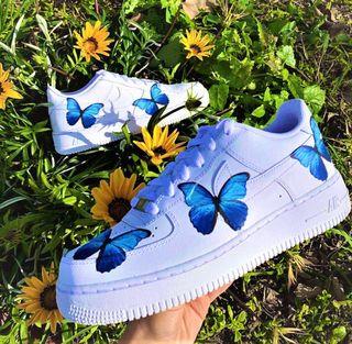 air force 1 mariposas