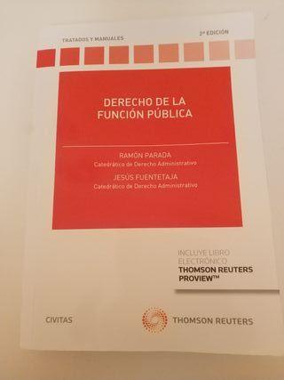 Libro de derecho de la función pública