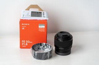 Objetivo Sony FE 50mm F 1.8 nuevo