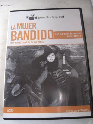 dvd película la mujer bandido