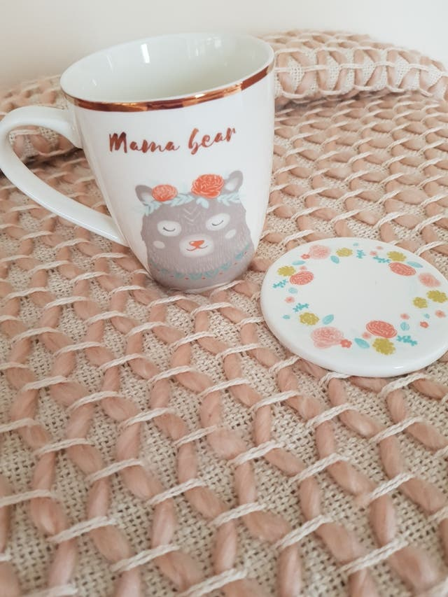 Mug and Coaster Set for your Mama Bear.!