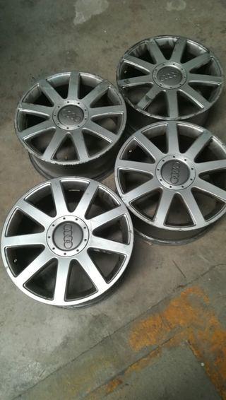 4 llantas s línea 17 neumáticos gastados