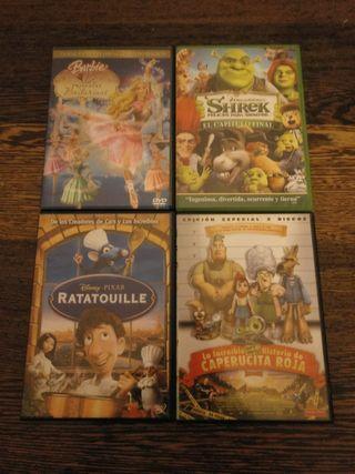 Películas DVD dibujos
