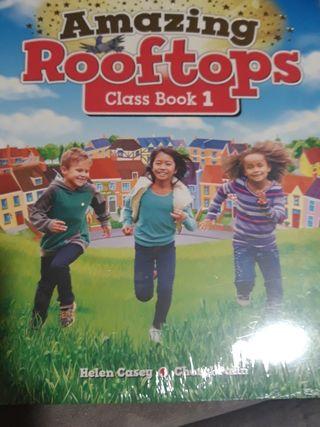 Amazing Rooftops Class book 1. libro inglés