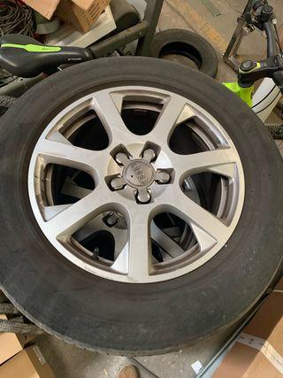 Llanta neumático de Audi Q 5 R17
