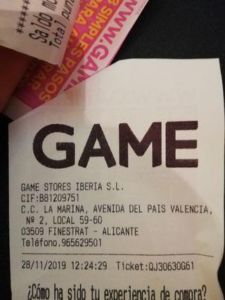PS4 1TB, Fifa20 Sims, comprado 28/11/19