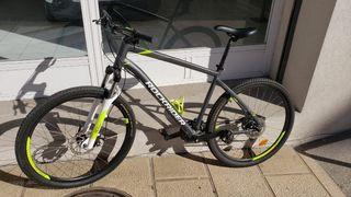 """Bicicleta Mtb Rockrider ST520 27.5"""" Talle:XL Casco"""