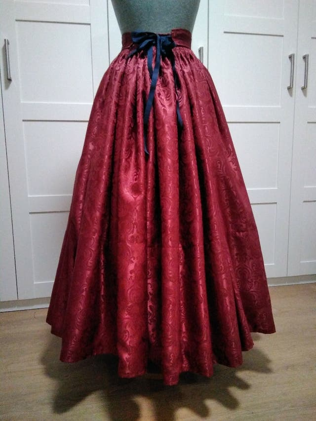 Falda traje regional Baturra