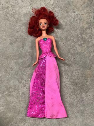 Muñeca Barbie Sirenita Sirena-princesa