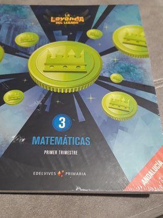 Libro matemáticas 3 La leyenda del legado