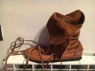 Sandalias hechas a mano piel
