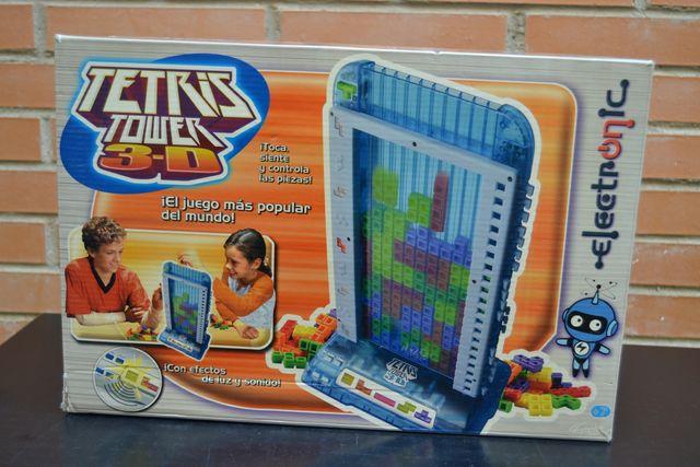 TETRIS TOWER 3D - Juego de mesa para niños