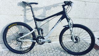 "Bicicleta giant trance 3 ""26"" talla M."