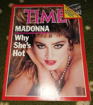 Madonna revista americana Time USA mayo 1985