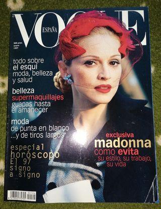 Madonna revista Vogue España enero 1997