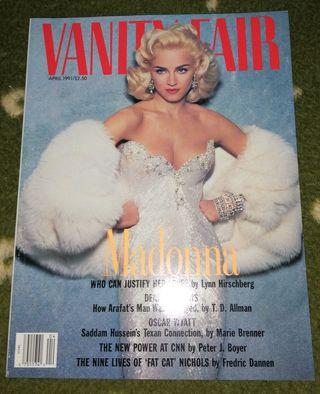 Madonna revista america Vanity Fair USA abril 1991
