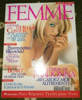 Madonna revista francesa Femme