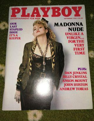 Madonna revista Playboy septiembre 1985 USA 14 pág
