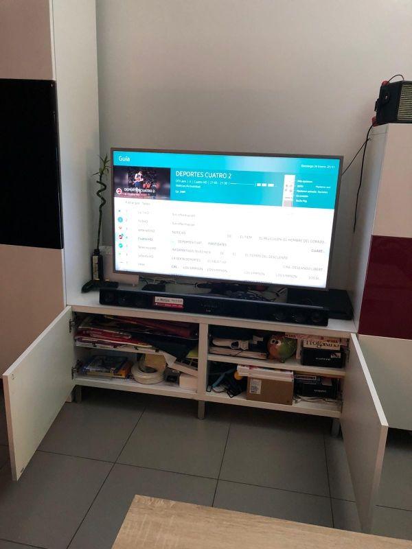 Módulos BESTA mueble almacenaje/TV