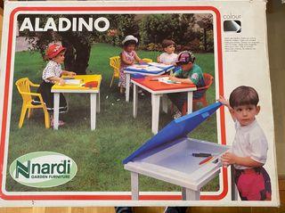 Mesa y silla niños Aladino Nardi plegable