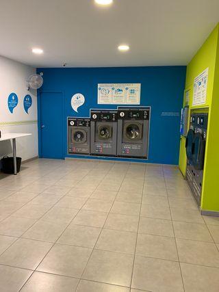 Traspaso de franquicia lavandería autoservicio