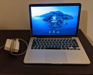Macbook Pro Retina 13 pulgadas tarde 2013 i5 256G