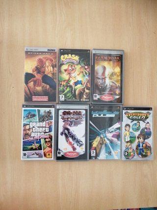 PSP videojuegos