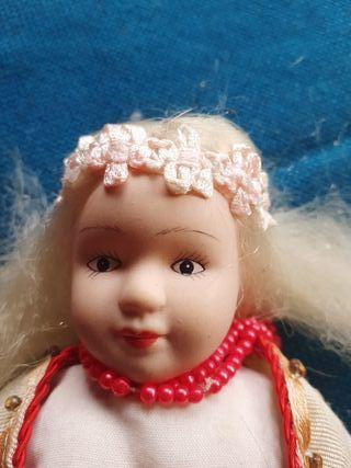 muñeca de porcelana articulada VINTAGE cdg 1648-32