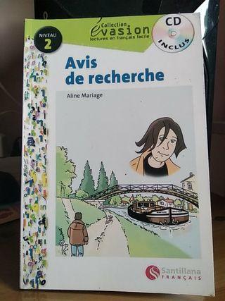 Libro en francés A1 Avis de recherche