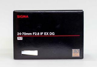 Sigma 24-70mm F2,8 EX IF DG HSM para Canon