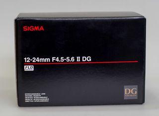 SIGMA 12-24mm F4.5-5.6 II DG HSM para Canon