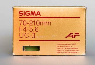 SIGMA 70-210mm F4 UC AF para Nikon