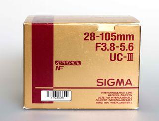 SIGMA 28-105mm F3.8-5,6 ASF UCIII para Minolta AF