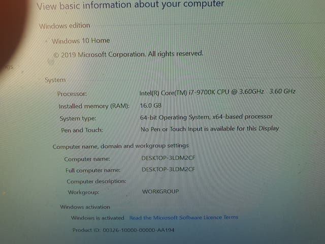 i7 gamming pc