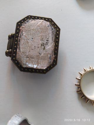 bolsa varios anillos
