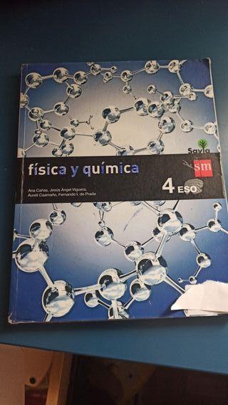 Libro de física y química SM.
