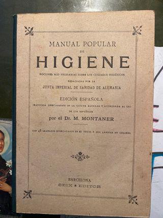 Libro de medicina antiguo